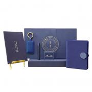 文具礼盒套装 创意钢笔 个性钥匙扣 搭扣手账记账记事本套装 比较实用的小礼品