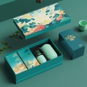【鲤遇端阳】端午节礼品高档礼盒茶具原创礼盒精致定制 端午节员工福利
