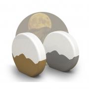 创意小巧时尚棒月小夜灯 触摸调光床头月亮灯拍拍灯 中秋节的小礼品