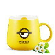 神偷奶爸小黄人陶瓷杯单个装 圆润软萌水杯 活动小礼品有哪些